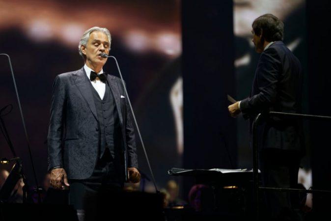 Andrea Bocelli Milan Concert Easter