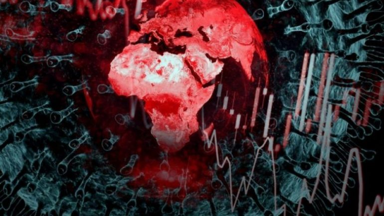 Pandemic Globe Graphic Bloomberg 780x439