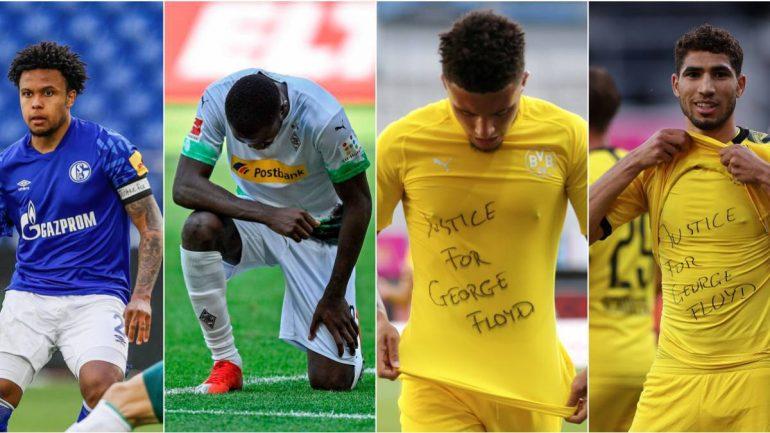 6. Protestuan Ne Fushen E Lojes, Fifa I Del Ne Krah Futbollisteve