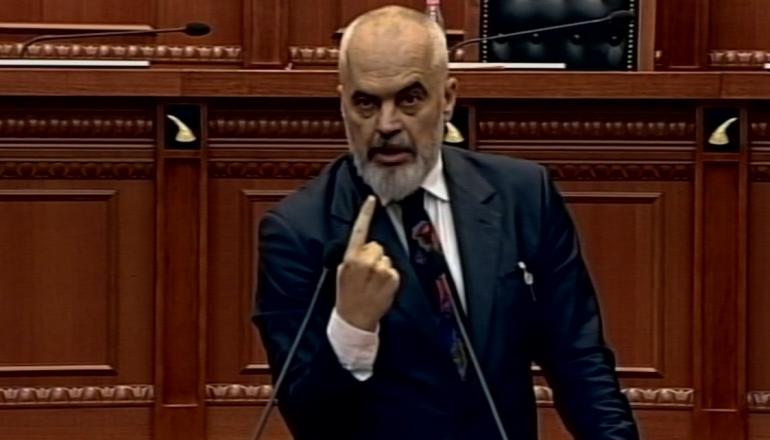 Edi Rama Ne Parlament