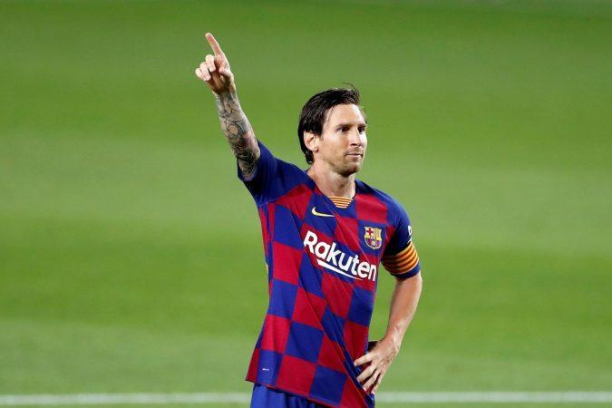 Misterio Resuelto La Explicacion Del Nuevo Festejo De Messi Que Estreno Ante Leganes
