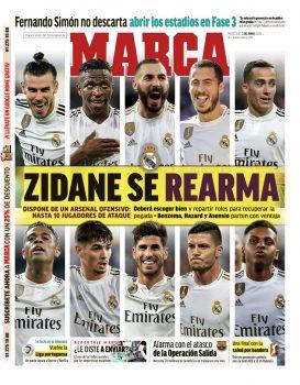 Zidane Is Rearmed Marca 33