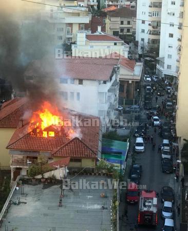 Zjarr Ne Tirane