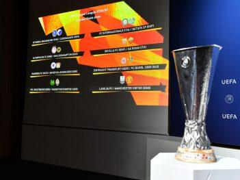 0 Uefa Europa League 201920 Quarter Final Semi Final And Final Draw