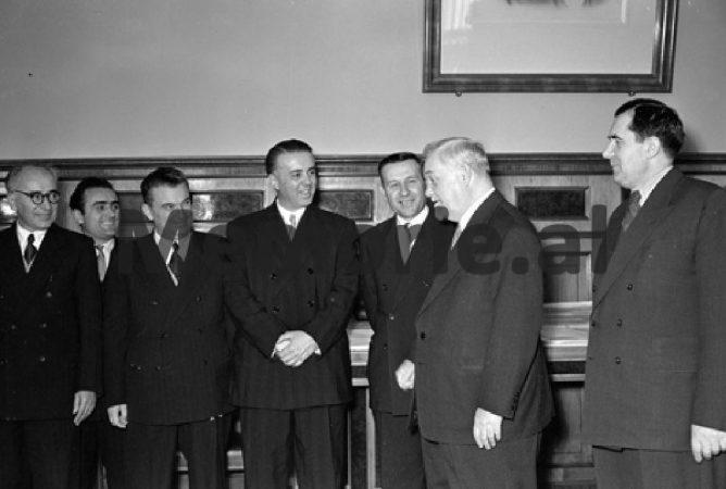 Delegacioni Shqiptar Ne Bashkimin Sovjetik. 1958 1