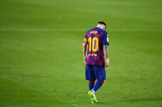 Lionel Messi Barcelona Vs Atletico Madrid La Liga 2020