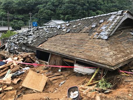 Floods In Southwestern Japan