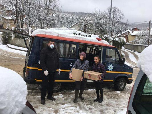 Bashkia Tropoje Ndihma Ushqimore