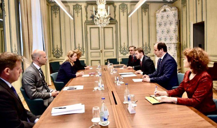 Nga integrimit tek Këshilli i Sigurimit  zbardhet takimi i Cakajt me sekretaren e Shtetit të Suedisë
