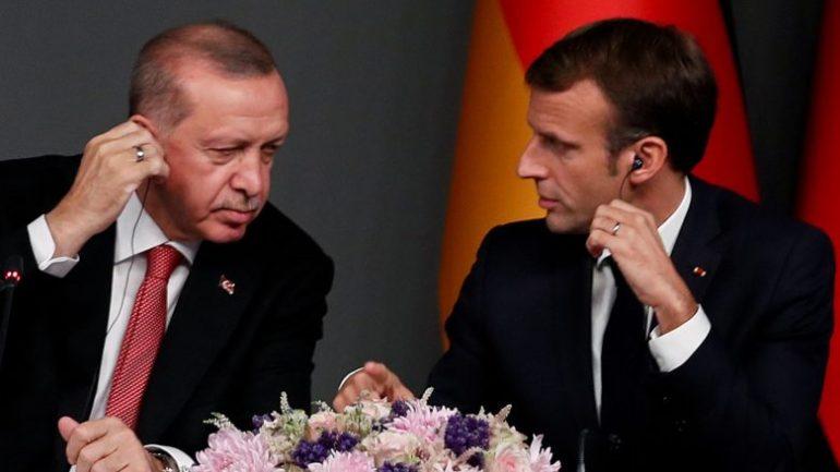Macron Erdogan