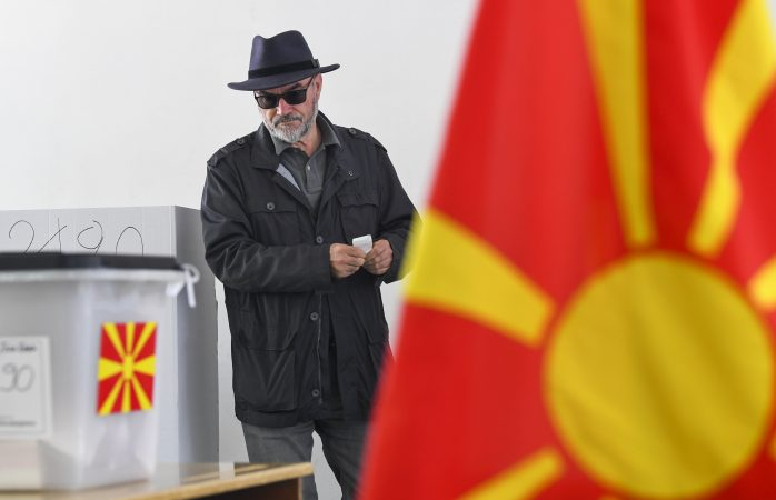 First Round Of North Macedonia Presidential Elections