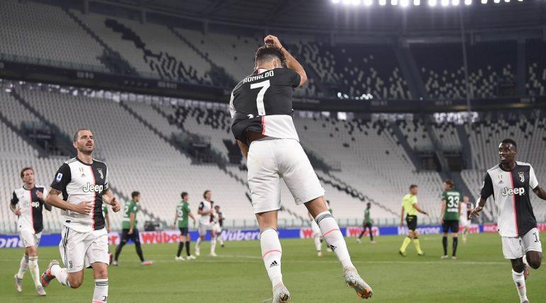 Serie A Soccer Match