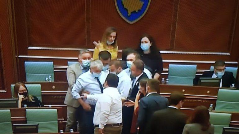 Seanca Kosove
