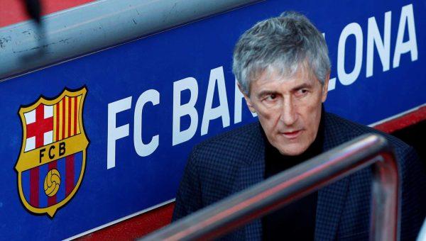 8 2lik Maglubiyet Sonrasi Barcelonada Teknik Direktor Setien Gorevden Alindi