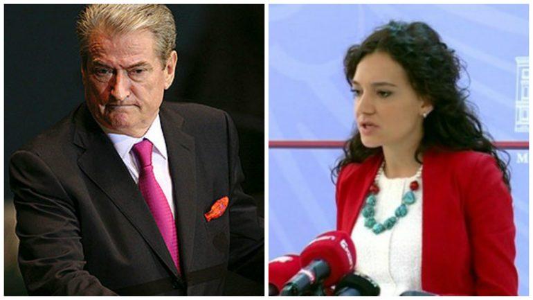 Sali Berisha Fts Elisa Spiropali