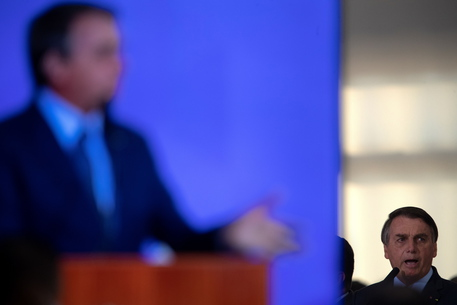 Bolsonaro Swears In To Minister Of Health