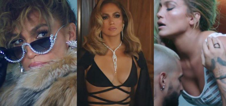 Jennifer Lopez Video Pa Ti Lonely Gioielli Yeprem Longerie Cong Tri Abito Genny Blazer Magda Butrym 2