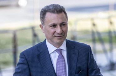 L Premier Ministre Macedonien Nikola Gruevski 5 Octobre 2018 Skopje Macedoine 0 729 480 696x458