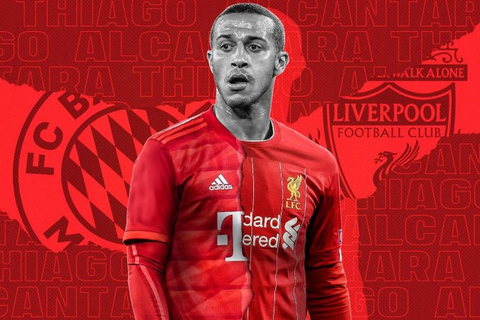 Thiago Alcantara Liverpool Transfer