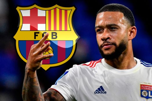 Koeman Gives Condition For Barcelona To Sign Depay From Lyon