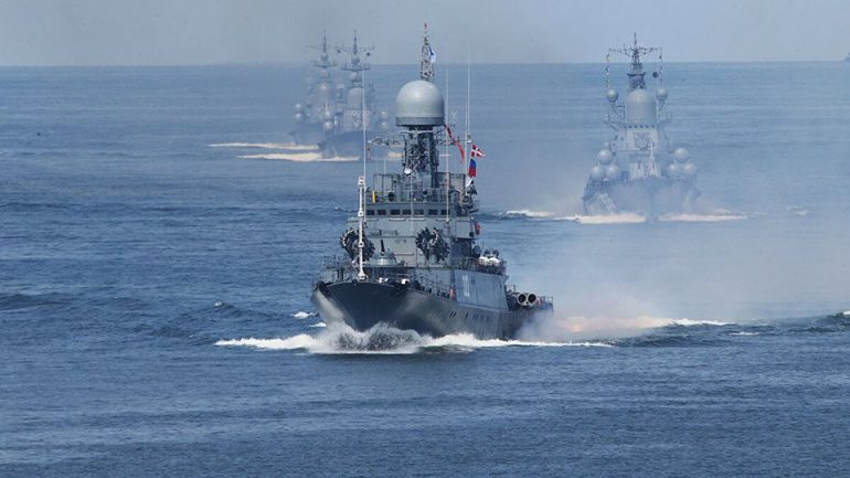 Russia Fleet Stolos Arthro