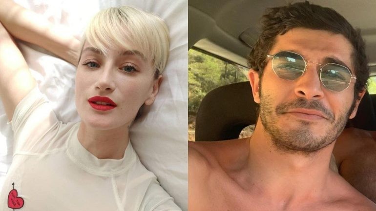 It's Official! Burak Deniz, 29, Posts First Picture With New Girlfriend Didem Soydan, 36, Announcing