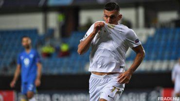 Uzuni Myrto Celeb Goal Ferencvaros Sep2020