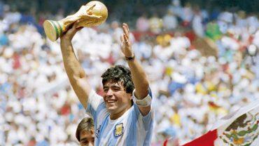 Diego Maradona El Grafico Sports Archive