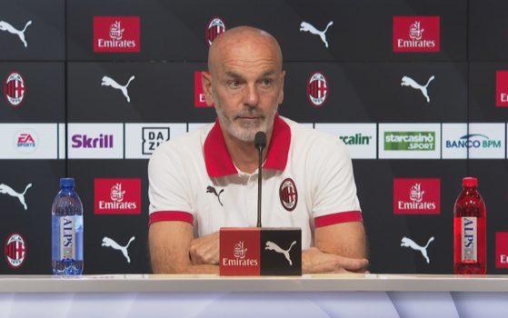 Pioli Milan Conferenza