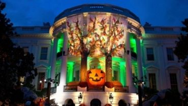 White House With Halloween Decorations Image Credit The White Housewikimedia 1661207 696x394