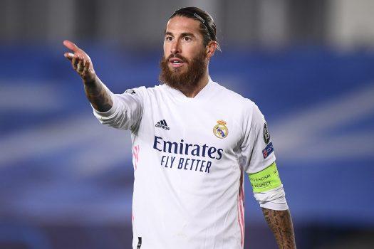 Football : Real Madrid Vs Inter Milan Champions League 03/11/2020