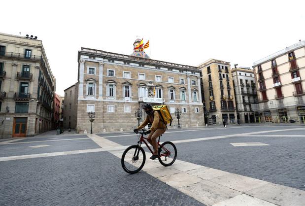 Spain Continues Nationwide Lockdown To Combat The Coronavirus