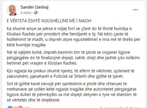 Sander Lleshaj Fb