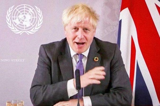 Boris Johnson Premier Ministre Britannique A Lui Meme Ete Durement Atteint Par Le Virus Photo Manuel Elias United Nations Afp 1601136937 696x464