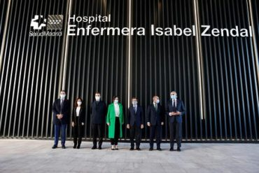 Opening Of The New Isabel Zendal Hospital In Madrid