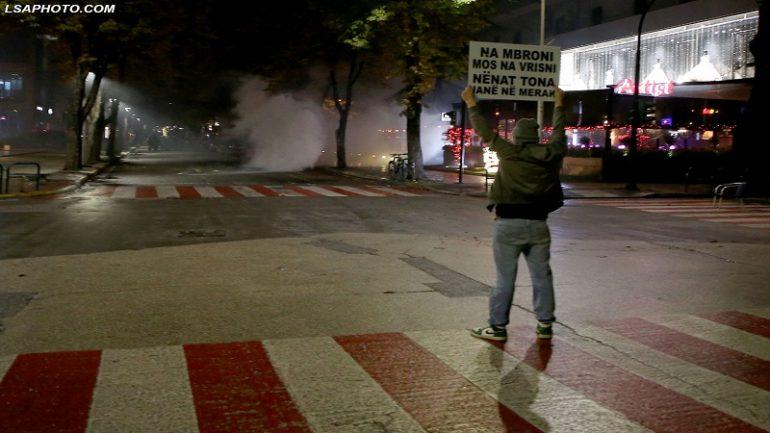 Protesta Klodian Rasha1