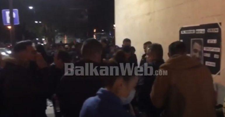 Proteste Cerrik
