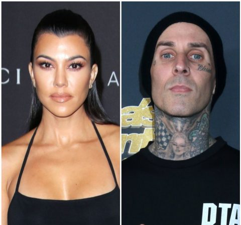 Kourtney Kardashian Travis Barker 1