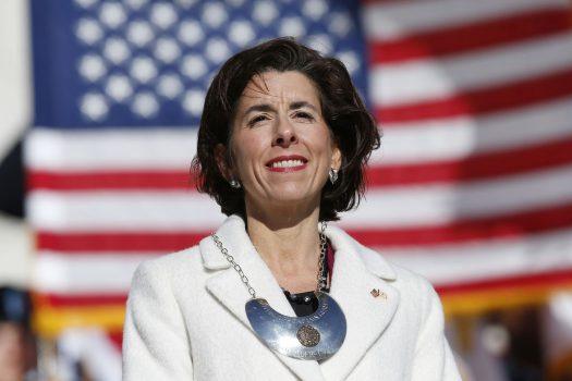 Gina Raimondo, ministre e Tregtise, SHBA