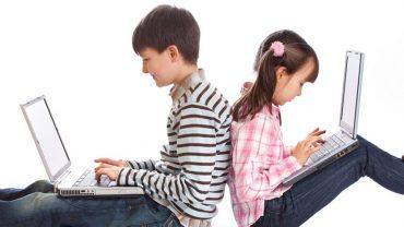 Femijet Llop Topi Interneti Teknologjia