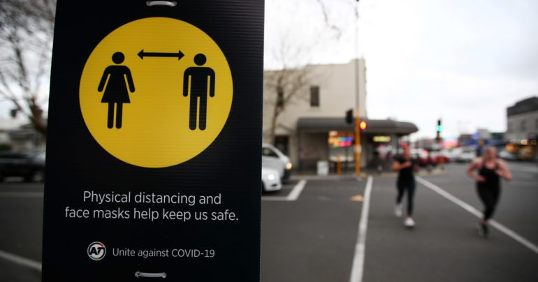New Zealand's Covid 19 Safety Measure Mandating Masks On Public Transport Takes Effect In Auckland