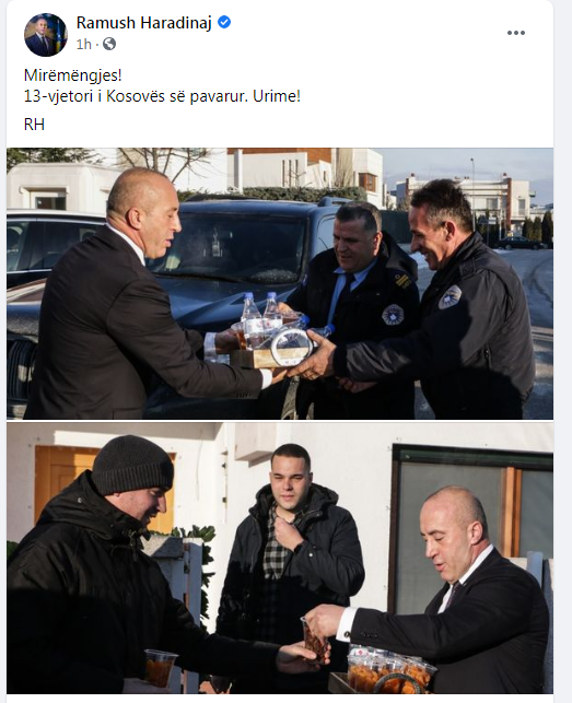 Haradinaj Fb