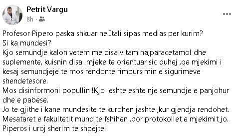 Mjeku Petrit Vargu