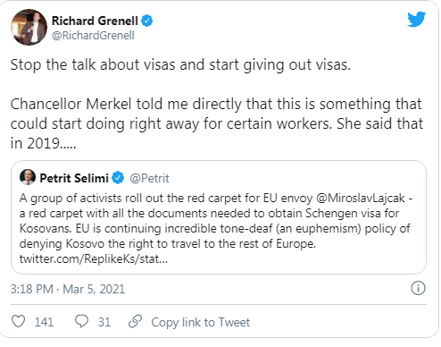 Grenell Twitter