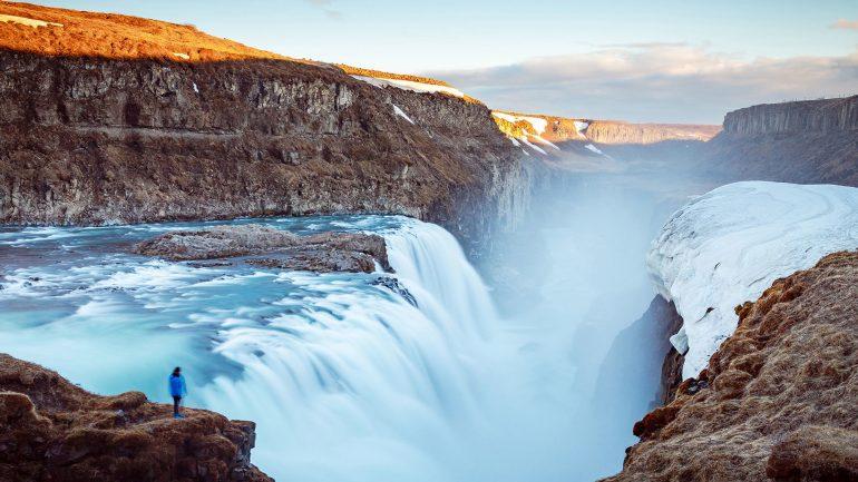 Gulfoss Iceland 1920x1080
