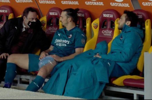 Ibrahimovic Infortunio Condizioni