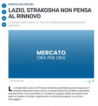 Lazio Strakosha