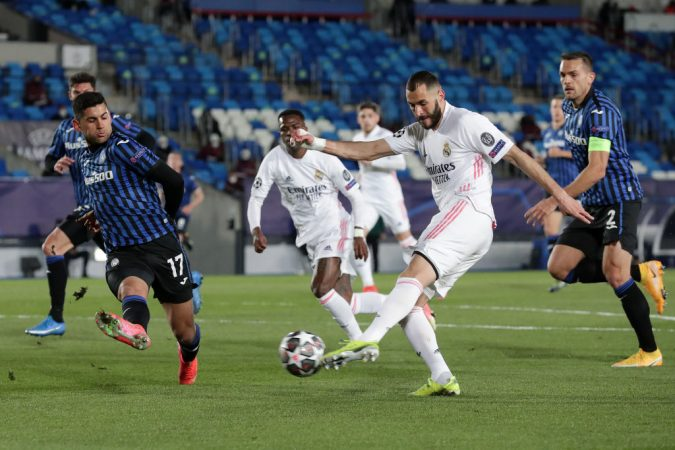 Real Madrid V Atalanta Uefa Champions League Round Of 16 Leg Two