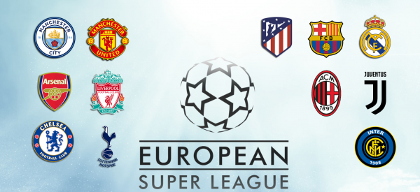 1. Revolucioni I Madh Lind Super League, Futbolli Europian Tronditet Nga Themelet
