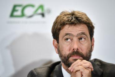1406129 Andrea Agnelli Anciennement President De L Eca
